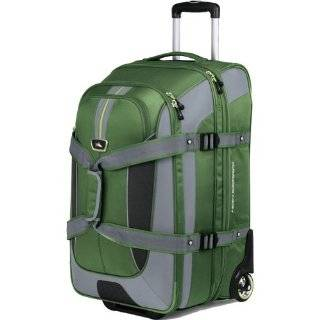 High Sierra AT659 32  Inch Expandable Wheeled Duffel with