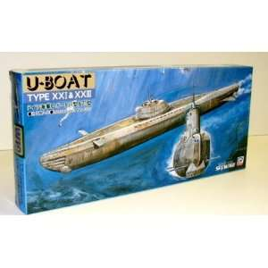 com SKYWAVE MODELS   1/700 German WWII Submarine Type 21 & 23 U Boats