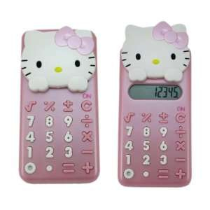 Pink Hello Kitty Calcuator   Girls Pink Calculator Toys & Games