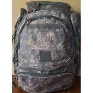Army National Guard Backpack /Activity Book W/cd rom & #88