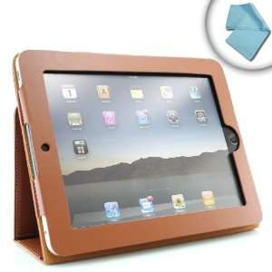 Apple iPad Genuine Leather Folio Case and Multiple View