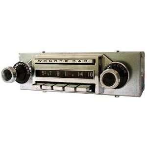 1959 60 Chevrolet Corvette Wonderbar AM/FM/Stereo Radio Automotive