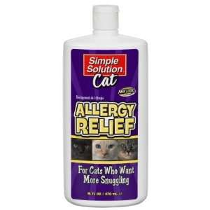 Simple Solution Allergy Relief From Cats 160z.: Everything