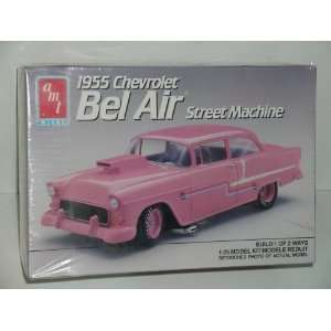 1955 Chevrolet Bel Air Car   Plastic Model Kit: Everything