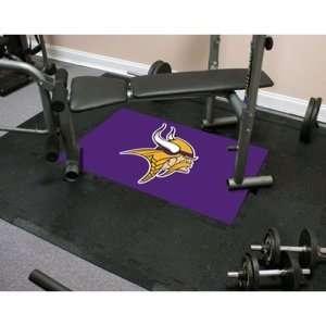 Minnesota Vikings NFL Team Fitness Tiles  Sports