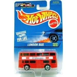 613 Red Double Decker London Bus 1:64 Scale Collectible Die Cast Car