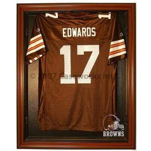 Cleveland Browns Cabinet Style Jersey Display Case Sports