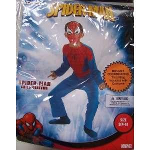 Marvel Spider Man Child Costume S (4 6) + Bonus