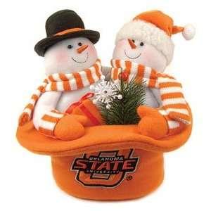 Oklahoma State Cowboys Snowmen Top Hat