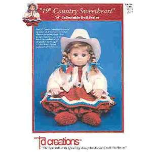19 Country Sweetheart Collectable Doll Series (td