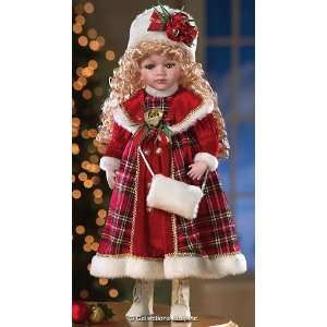Heritage Collection Molly Porcelain Doll With Red Everything Else