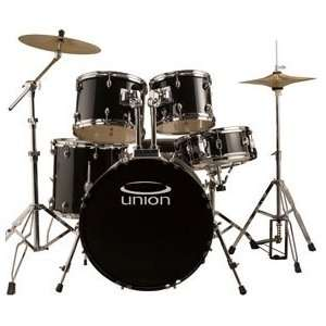 Rock/Jazz Drum Set w/ Hardware, Cymbals & Throne Musical Instruments