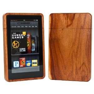 Wood Kindle Fire Case Exotic Macacauba Electronics