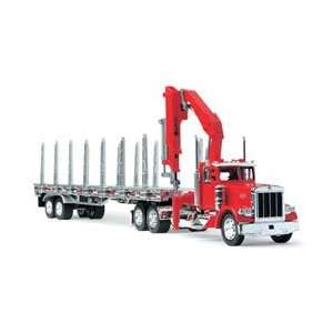 132PB FLATBED W/SIDE CRANE & SIDE KIT Electronics