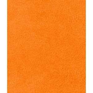 Orange Fleece Fabric: Arts, Crafts & Sewing