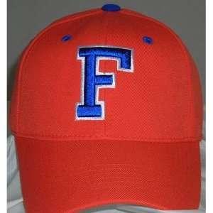 Florida Gators One Fit NCAA Wool Flex Cap (White)