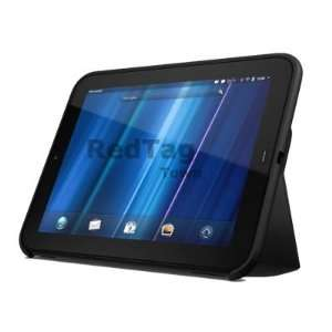Folio Stand Leather Case Cover for HP TouchPad Tablet