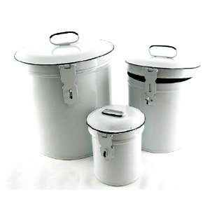 French Country Canister Set ~ Kitchen Storage Canisters E2~ Decorative
