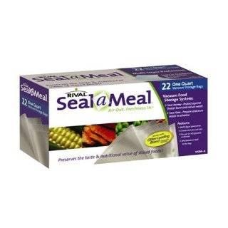 Seal A Meal VS107 Vacuum Food Sealer, White