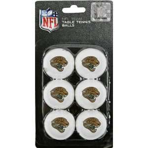 Jacksonville Jaguars Table Tennis Balls