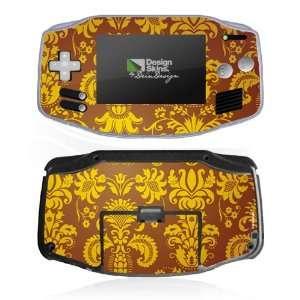 Design Skins for Nintendo Game Boy Advance   Brown