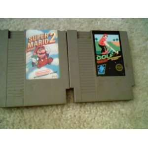 game Combo Pack:Super Mario Bros. 2, and Nintendo Golf Video games