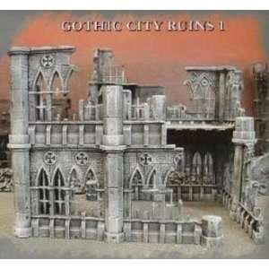 Pegasus Hobby Gothic City Building Ruins Set 1 Toys & Games