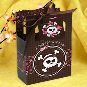 Girl Skull   Classic Personalized Baby Shower Favor Boxes Toys