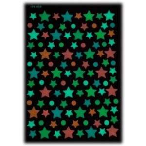 Glow in the Dark Stars Sticker (200+ 6 Sheet of 7 X10