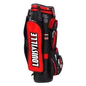 College Licensed Golf Cart Bag   Louisville Sports