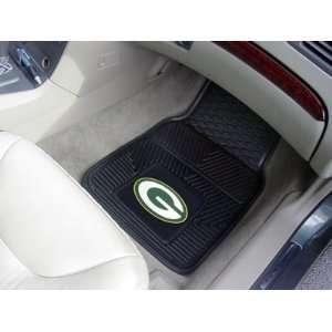 com Green Bay Packers 2 PIECE RUBBER/VINYL CAR/TRUCK/AUTO FLOOR MATS