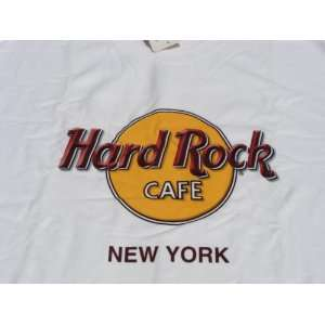 Hard Rock Cafe Tee Shirt HRC Classic White New York