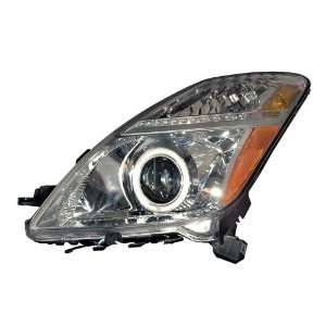 Toyota Prius 06 09 HeadLamps Halo Chrome Clear Amber (CCFL)   (Sold in