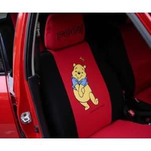 6 Pcs Hello Kitty Universal Car Seat Cover Blue   With