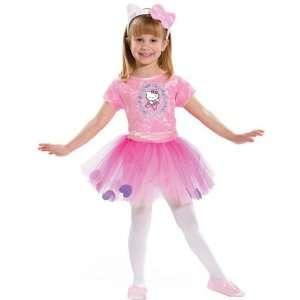Hello Kitty Ballerina Child Costume (Medium (2 4)) Toys