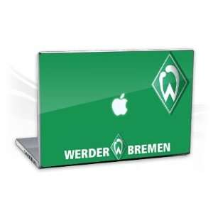MacBook Pro 15,4   Werder Bremen grün Notebook Laptop Vinyl Sticker