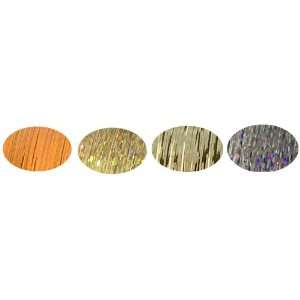 Orange, Hot Champagne, Platinum, Violet Pearl + Hair Art PIn Tail Comb