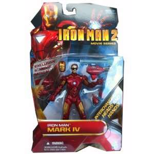 Iron Man 2 Movie Series 6 Inch Exclusive Action Figure Mark IV  Toys
