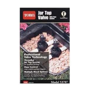 Toro Jar Top Valve With Flow Control (53707) Patio, Lawn
