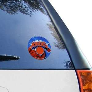 NBA New York Knicks 4.5 Round Team Logo Vinyl Decal
