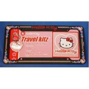 Hello Kitty Hearts Sanrio License Plate Frame, Keychain