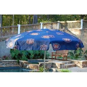 Auburn College Logo Umbrella   7.5 ft Patio Patio, Lawn