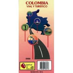 Colombia vial y turístico (mapa de viaje) (9780783403281