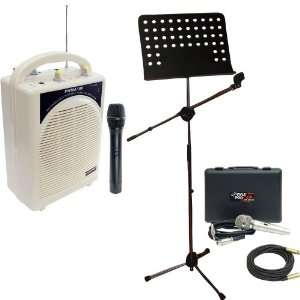 Microphone And Music Note Stand   PPMCL50 50ft. Symmetric Microphone