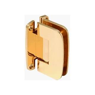 Series Brass Wall Mount Full Back Plate Standard Hinge with 5º Offset