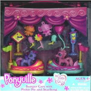 My Lile Pony Ponyville Bumper Cars wih Pinkie Pie and