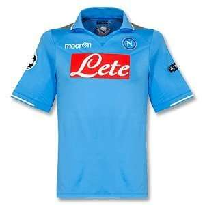 11 12 Napoli Home Champions League Jersey (Includes