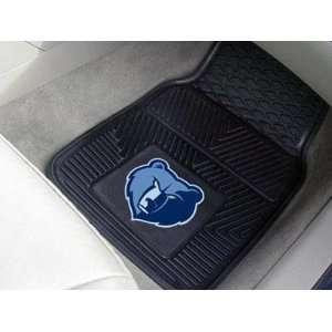 Memphis Grizzlies Vinyl Car/Truck/Auto Floor Mats