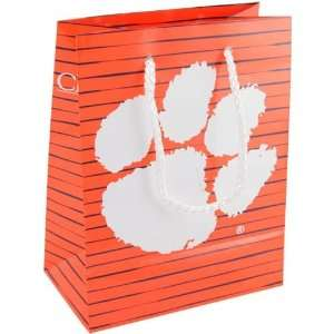 NCAA Clemson Tigers Small Team Logo Gift Bag Home