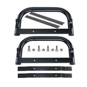 E Z GO 609254 Black Nerf Bar Kit [Misc.] Sports & Outdoors